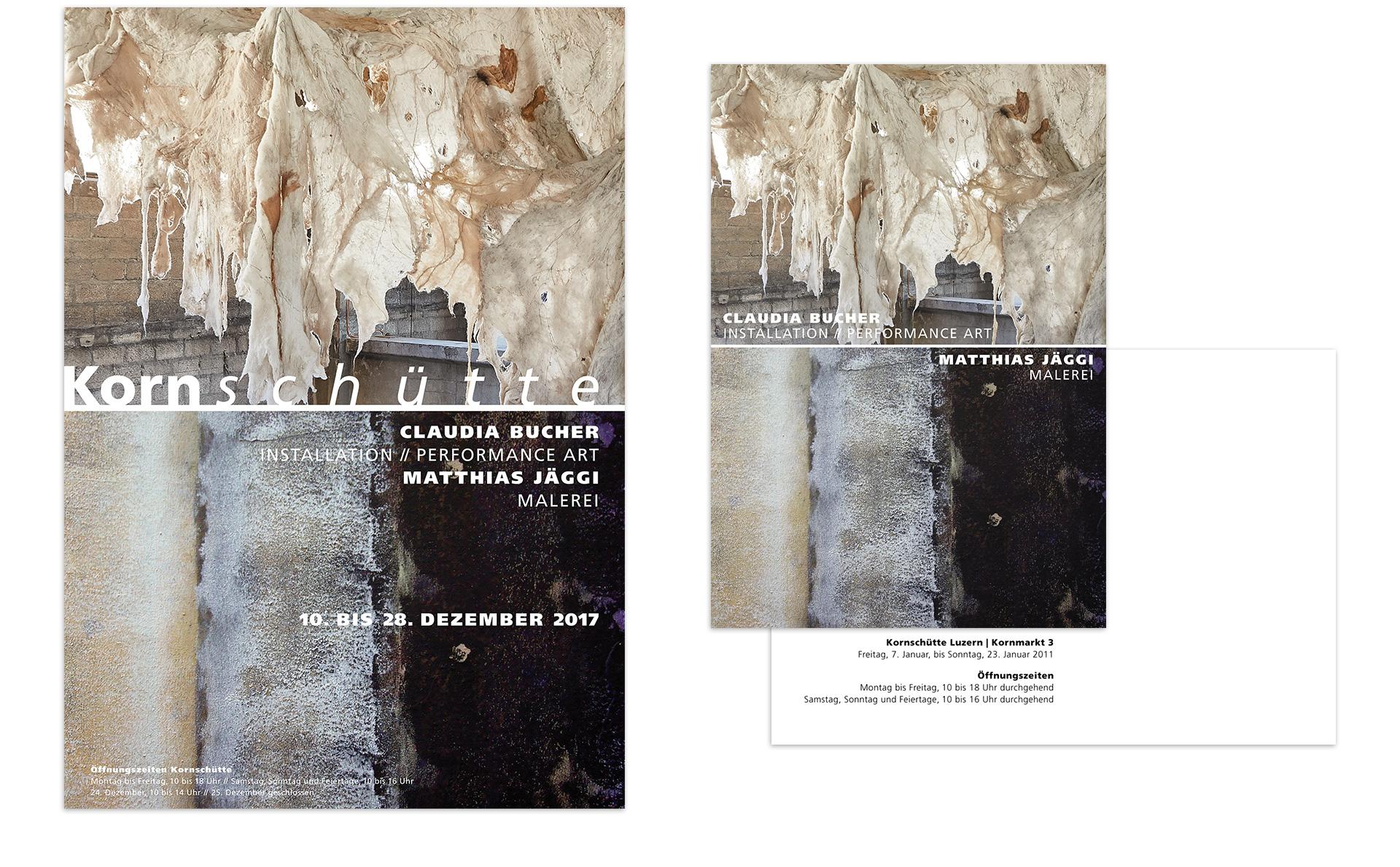 Plakat und Einladungskarte